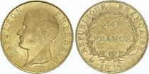 France 40 Francs Napoleon I Empereur - An 13 A Paris - Gold