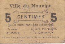 France 5 cent. Le Nouvion