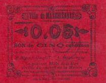 France 5 cent. Marchiennes
