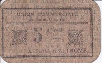 France 5 cent. Saint-Quentin Fleurette 2