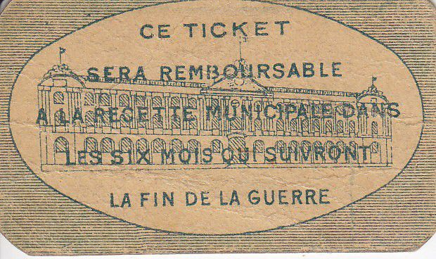 France 5 cent. Toulouse City