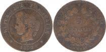 France 5 Centimes Cérès - Troisième République - 1872 A Paris