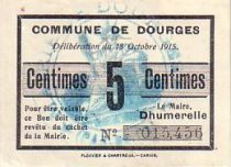 France 5 Centimes Dourges
