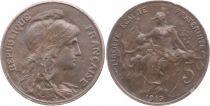 France 5 Centimes Dupuis - 1916
