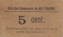 France 5 Centimes Le Mas d\'Agenais Union des Commerçants