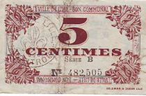 France 5 Centimes Lille