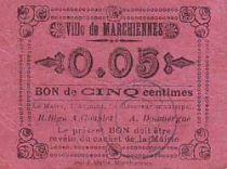 France 5 Centimes Marchiennes