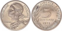 France 5 Centimes Marian - 1973 - UNC