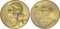 France 5 Centimes Marian - 1980 UNC