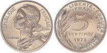 France 5 Centimes Marianne - 1973 - FDC issu de coffret