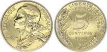 France 5 Centimes Marianne - 1989  issu de coffret BU