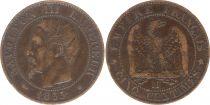 France 5 Centimes Napoléon III - Nude Head - 1855 MA Marseille