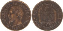 France 5 Centimes Napoléon III - Nude Head - 1856 A Paris