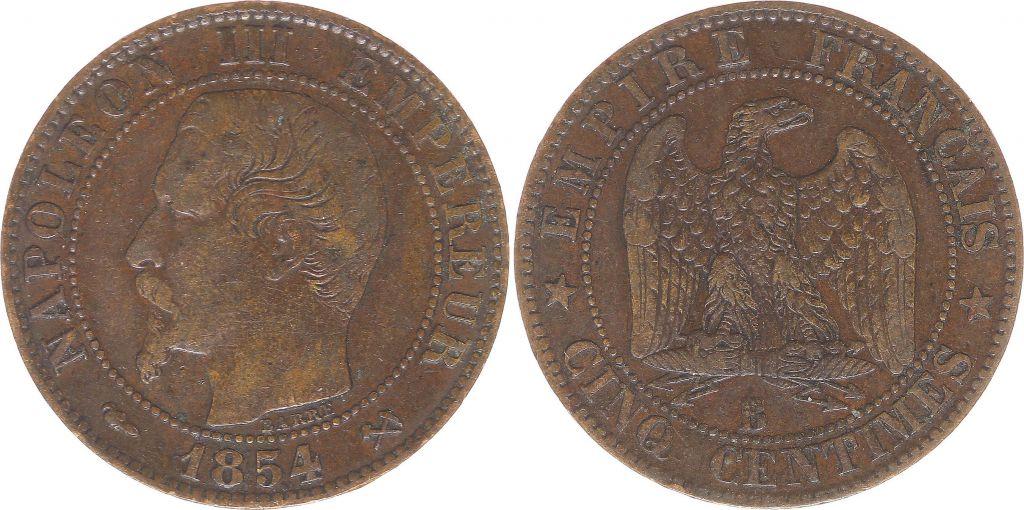 piece de monnaie napoleon iii empereur