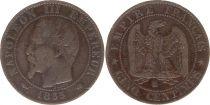 France 5 Centimes Napoléon III - Tête Nue -1855 K Bordeaux
