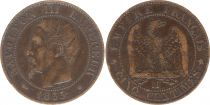 France 5 Centimes Napoléon III - Tête Nue -1855 MA Marseille
