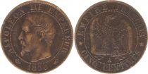 France 5 Centimes Napoléon III - Tête Nue -1856 A Paris