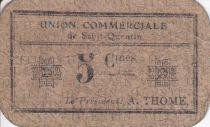 France 5 Centimes Saint-Quentin Union commerciale