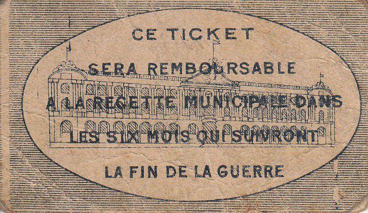 France 5 Centimes Toulouse Emission Municipale