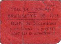 France 5 Centimes Tourcoing Mobilisation de 1914