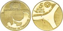 France 5 Euros Gold  Castle of Versailles 2011 - Proof  - without boxe and without certificat