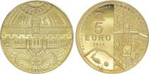France 5 Euros Gold  Grand Palais 2015 - Proof  - without boxe and without certificat
