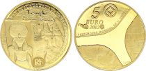 France 5 Euros Gold  Temples of Abou Simbel 2012 - Proof  - without boxe and without certificat
