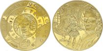 France 5 Euros Gold Baroque style  - 2018 - Proof  -without boxe and without certificat
