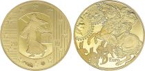 France 5 Euros Gold Franc Germinal - 2019 - Proof  -without boxe and without certificat
