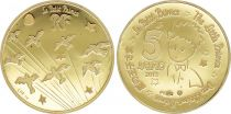 France 5 Euros Gold Petit Prince 2015 - Proof  -without boxe and without certificat