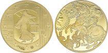 France 5 Euros Or Franc Germinal - 2019 - Frappe BE - sans boîte ni certificat