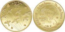 France 5 Euros Or Petit Prince - Oiseaux - Frappe BE - sans boîte ni certificat