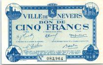 France 5 F , Nevers Bon de Ville, émis