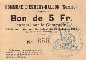 France 5 F Esmery-Hallon n° 656