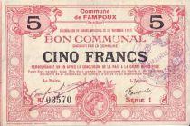 France 5 F Fampoux - 26/11/1915