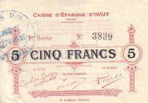 France 5 F Iwuy Caisse d´épargne - 16/01/1916