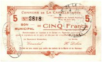 France 5 F La Capelle City - 1915