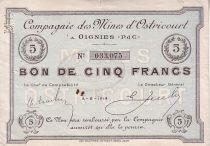 France 5 F Oignies Cie. des mines