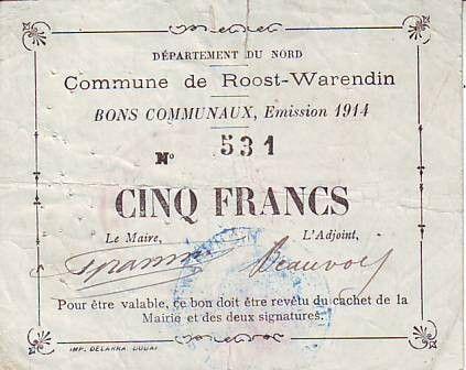 France 5 F Roost-Warendin