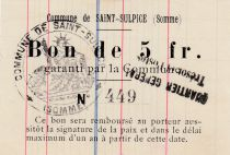 France 5 F Saint-Sulpice - 1915
