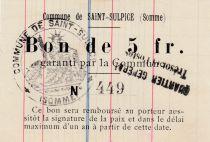 France 5 F Saint-Sulpice - 1915