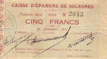 France 5 F Solesmes Caisse d´épargne