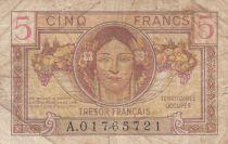 France 5 Francs , Trésor Français - 1947 - Série A.01765721