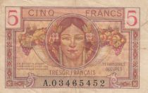 France 5 Francs , Trésor Français - 1947 - Série A.03465452