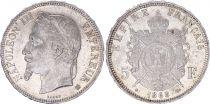 France 5 Francs, Napoleon III - 1868 BB SUP