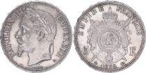 France 5 Francs, Napoleon III - 1870 BB SUP