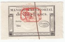 France 5 Francs 28 Ventose An IV (18.3.1796) - Red seal - AU