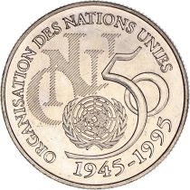 France 5 Francs 50 years of United Nations - Nickel