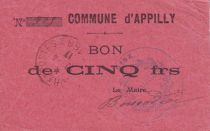 France 5 Francs Appilly Commune