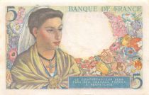 France 5 Francs Berger - 02-06-1943 Série D.2 - SUP